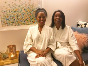Brittany and Mom at Hiatus Spa & Retreat